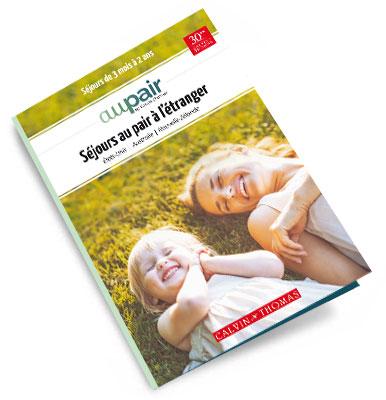brochure Au Pair : les programmes de séjours au pair / demi-pair à télécharger