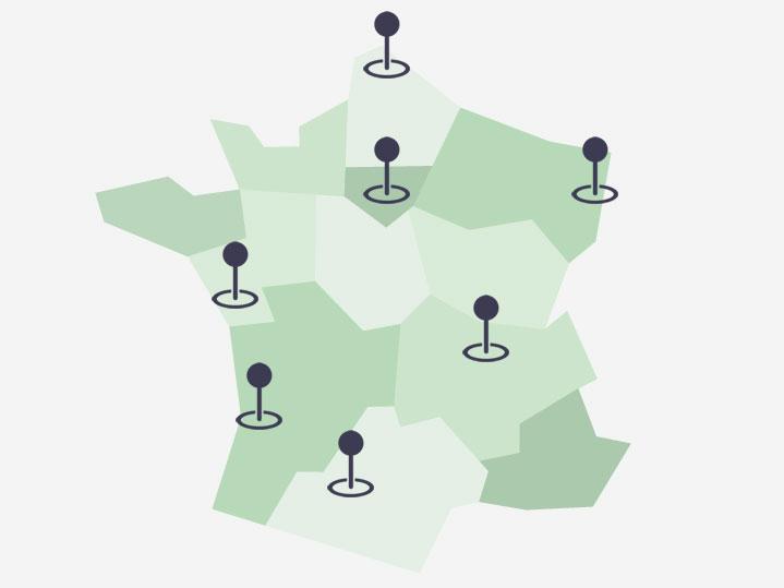 contacts du réseau des conseillers régionaux Au Pair en France