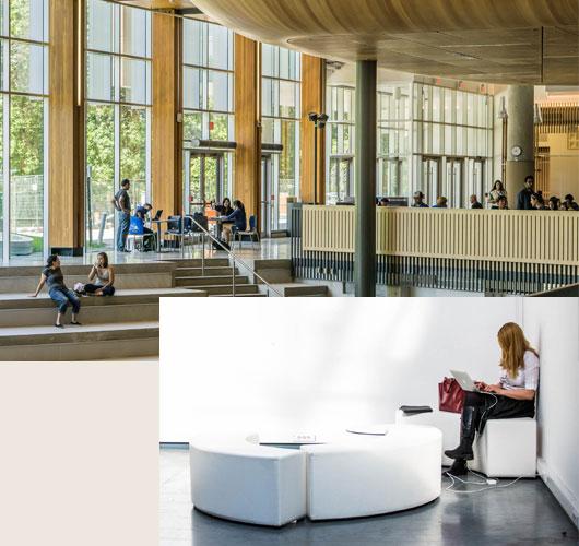 principaux departments des universités américaines