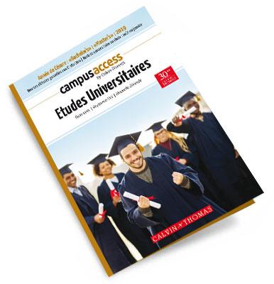 brochure Campus Access : les programmes de études  universitaires à télécharger