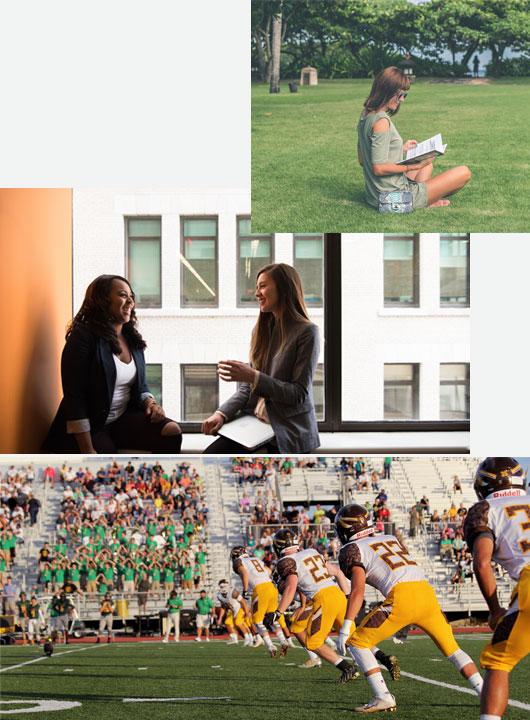 le campus américain conçu autour des études
