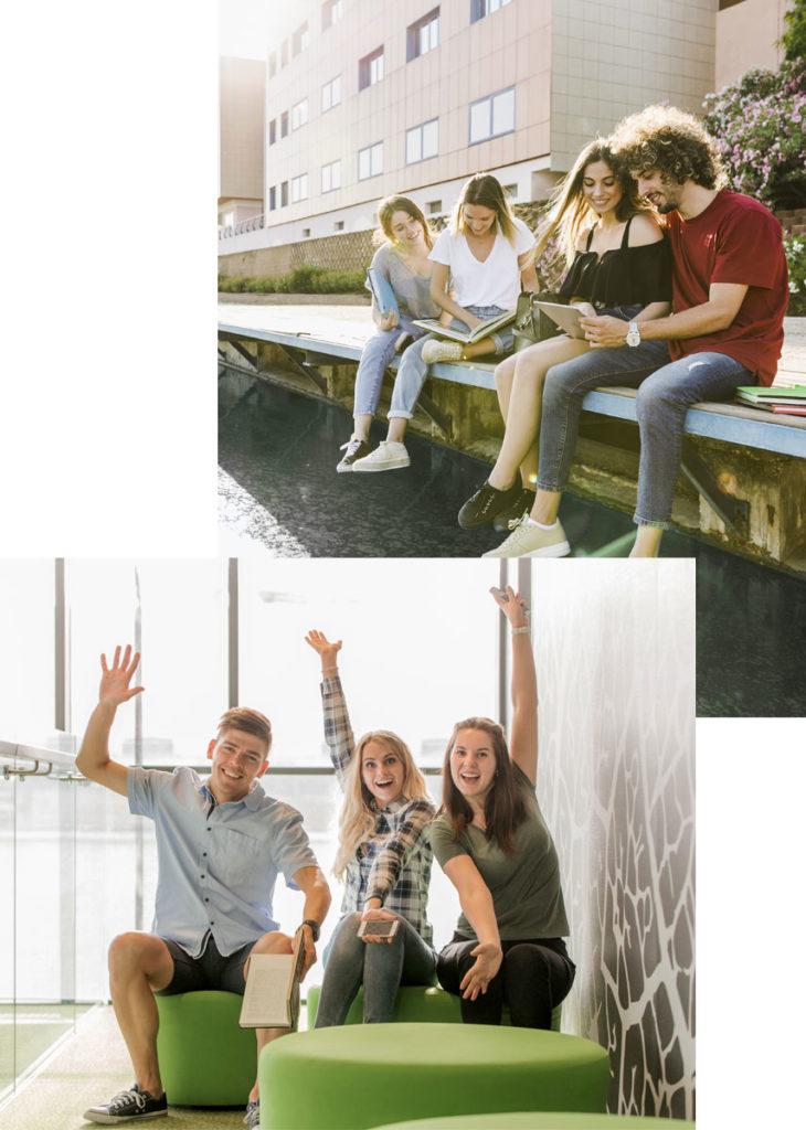 des études universitaires Campus Access dans un pays anglophone