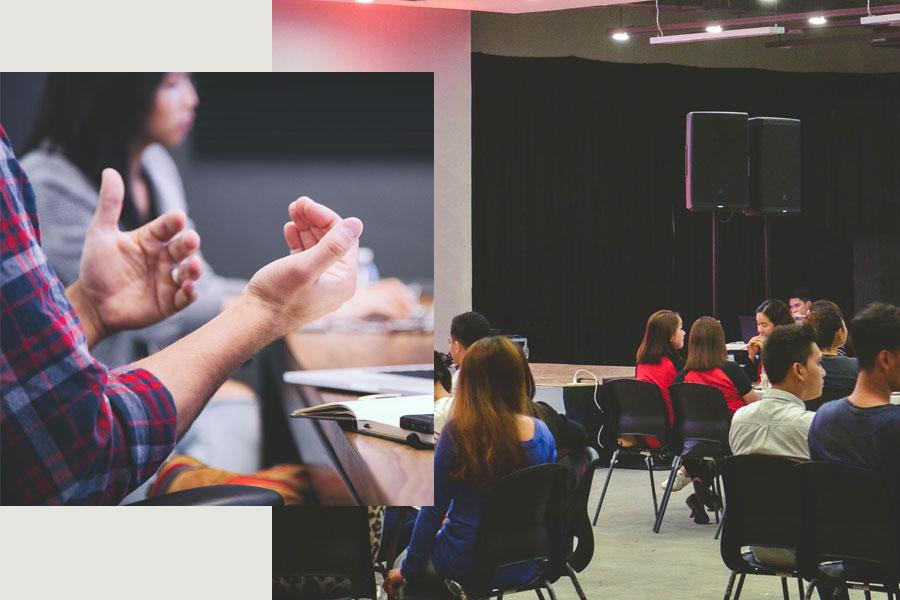 réunion d'information sur le programme Campus - Études universitaires à l'étranger