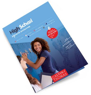 brochure Highschool : les programmes de séjours scolaires à télécharger
