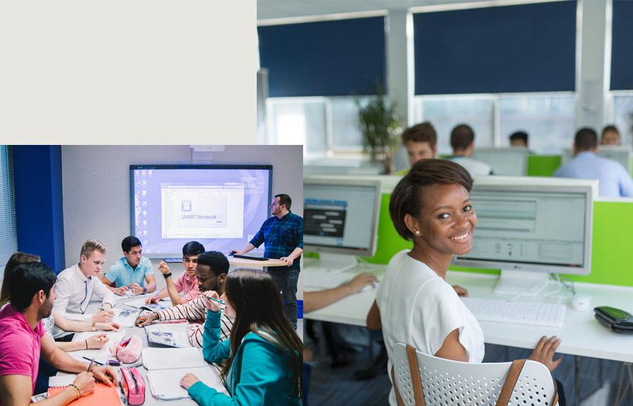 Une pédagogie basée sur des cours d'anglais interactifs
