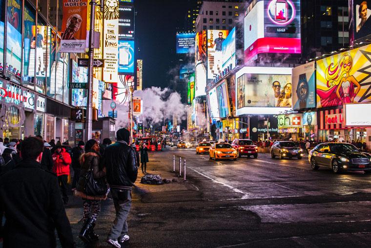 stage d'intégration à New-York