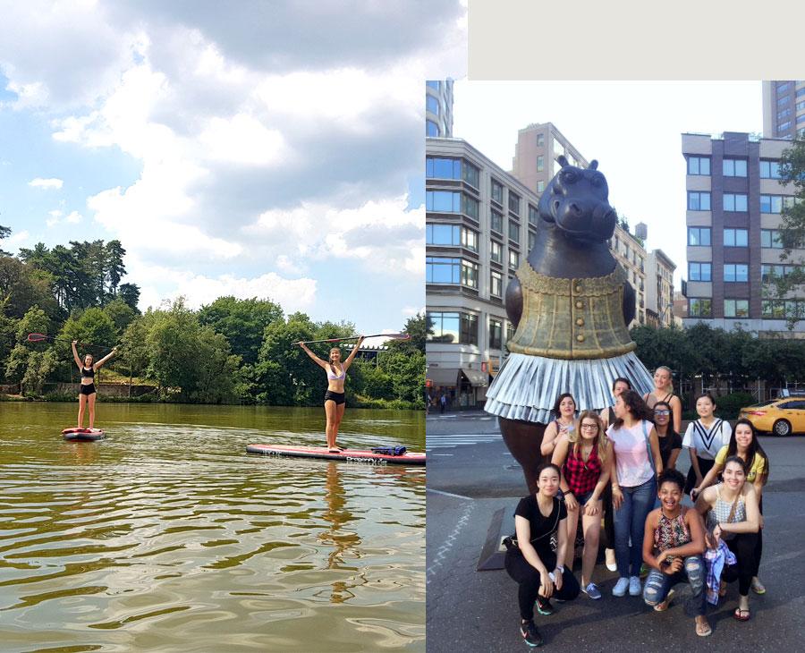 vacances à l'étranger avec un programme d'activités et d'excursions