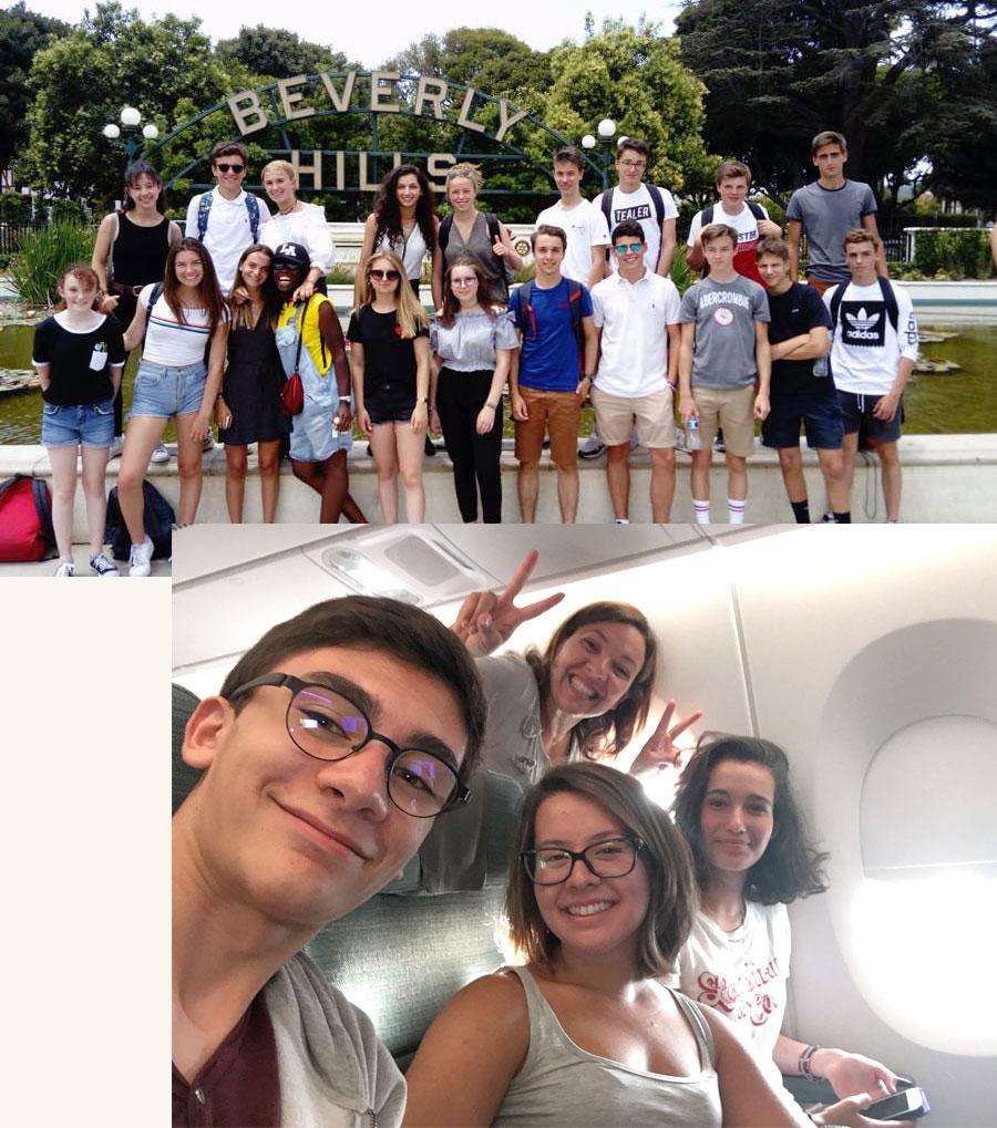 voyage linguistiques de groupe et accompagné à l'étranger