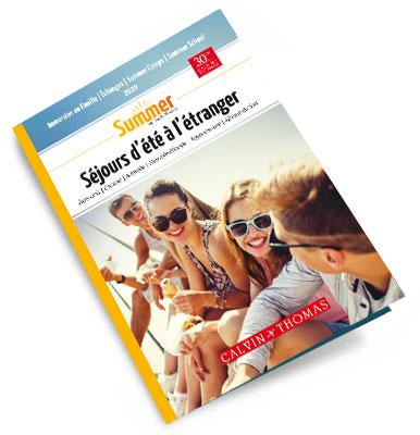 brochure Summer : les programmes de séjours d'été à télécharger