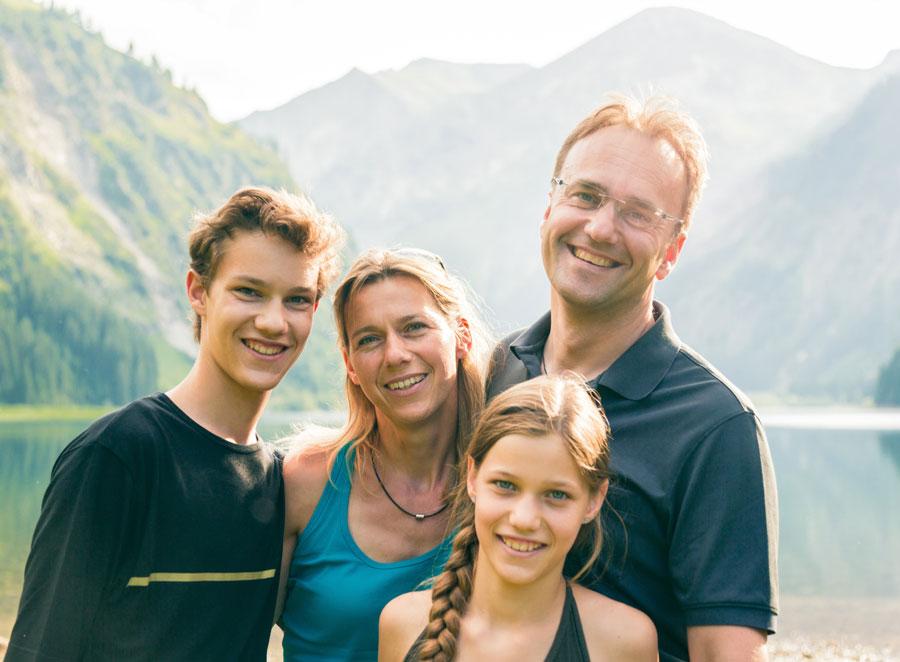 un séjour linguistique en famille d'accueil