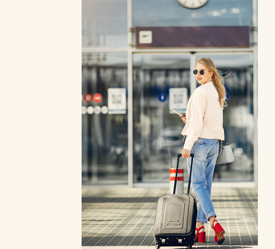 service pick-up à l'aéroport Paris-Charles de Gaulle pour les séjours d'été USA